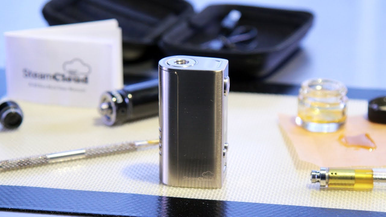 Box Mod Review: SteamCloud A-40 (510 thread variable wattage vaporizer)