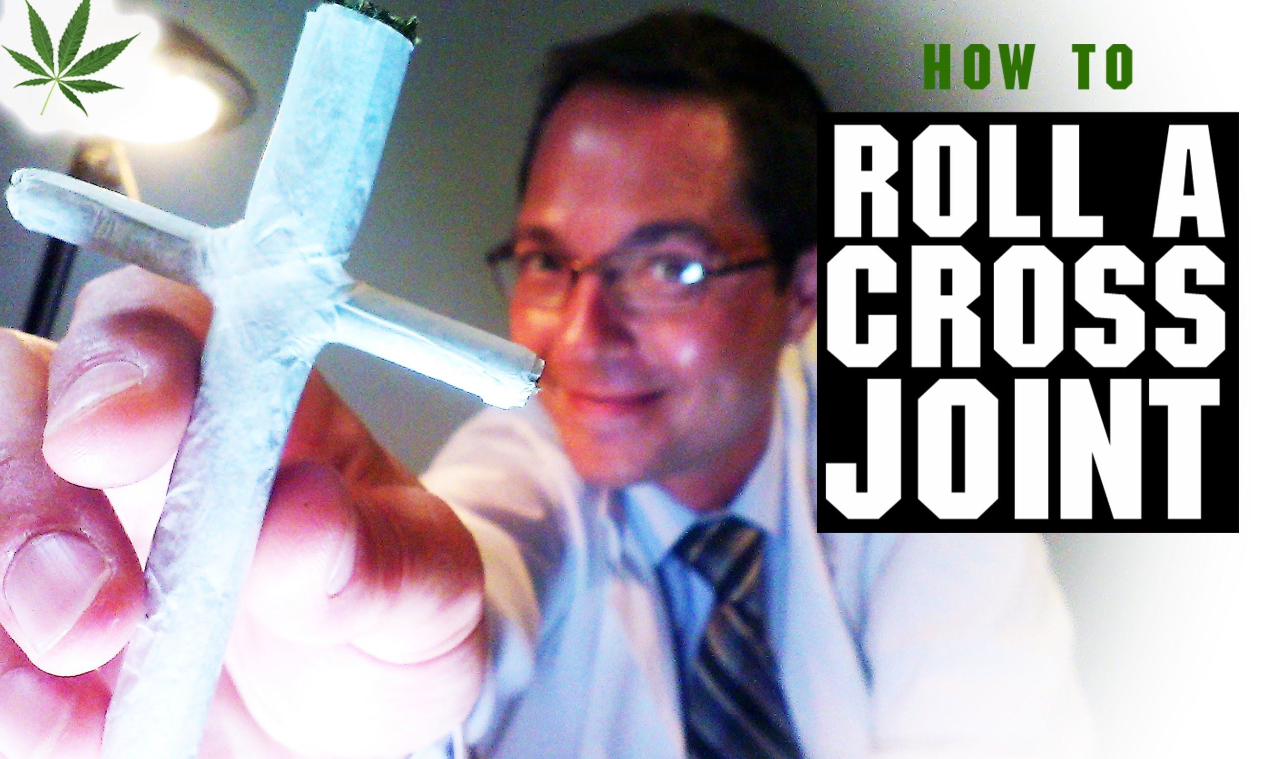 How to Roll a Cross Joint Marijuana Tricks & Tips w/ Bogart #13