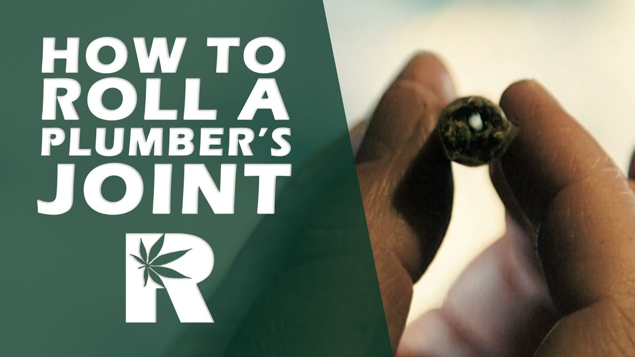 How To Roll A Plumber's Joint (Vortex): Cannabasics #47