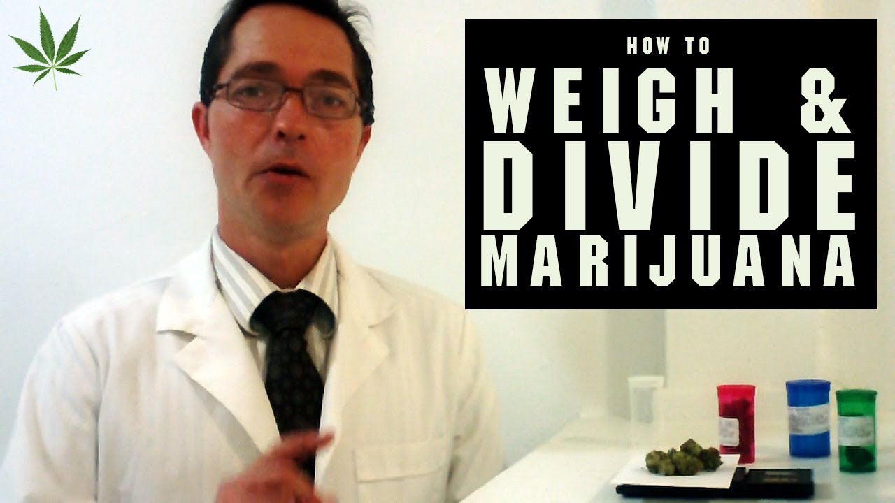 How to Weigh and Divide Marijuana Tricks & Tips w/ Bogart #15
