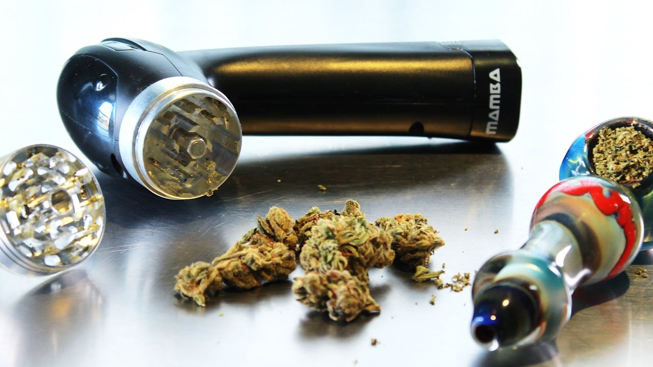 Mamba Battery Powered Electric Herb Grinder Unboxing, Usage and Review