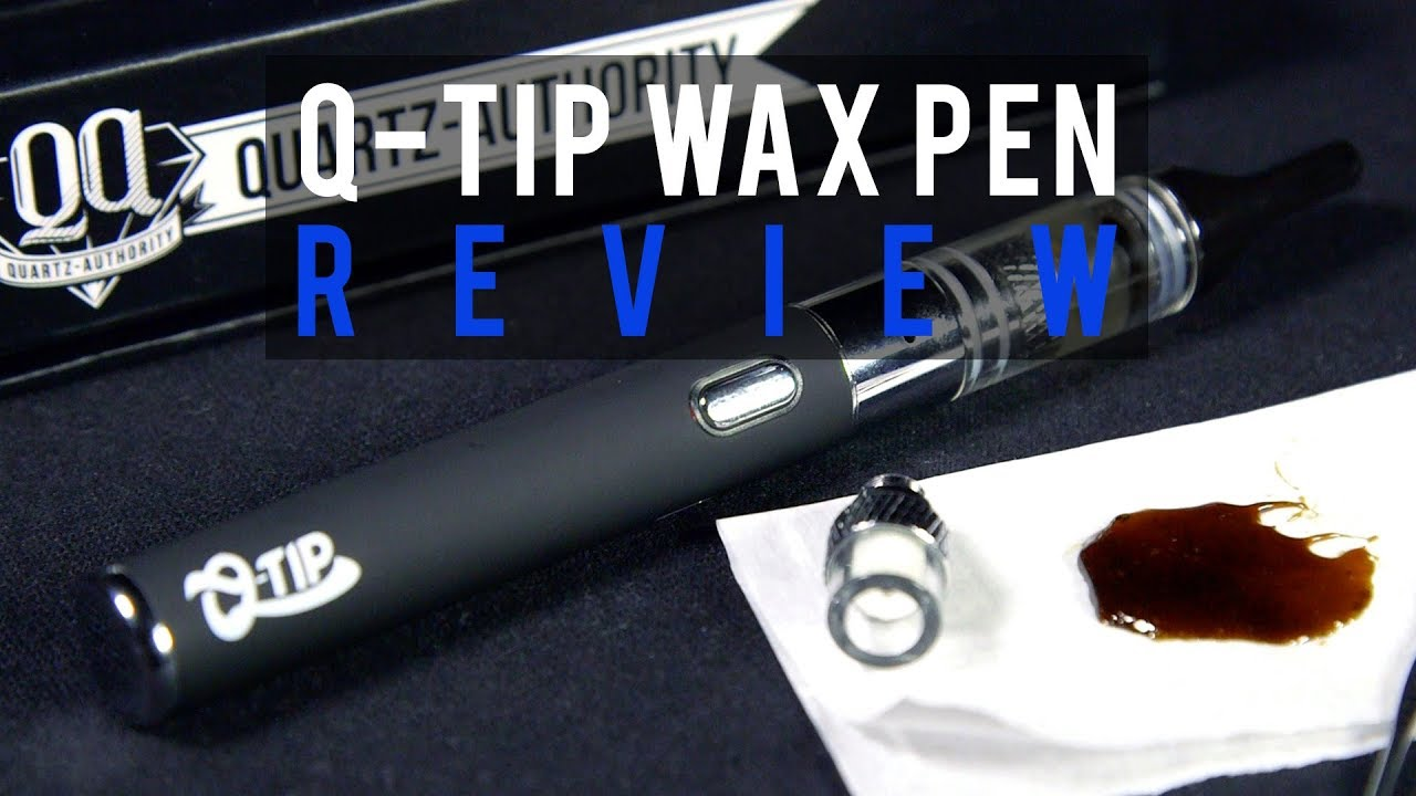 Q-Tip Fritted Quartz Wax Pen Review