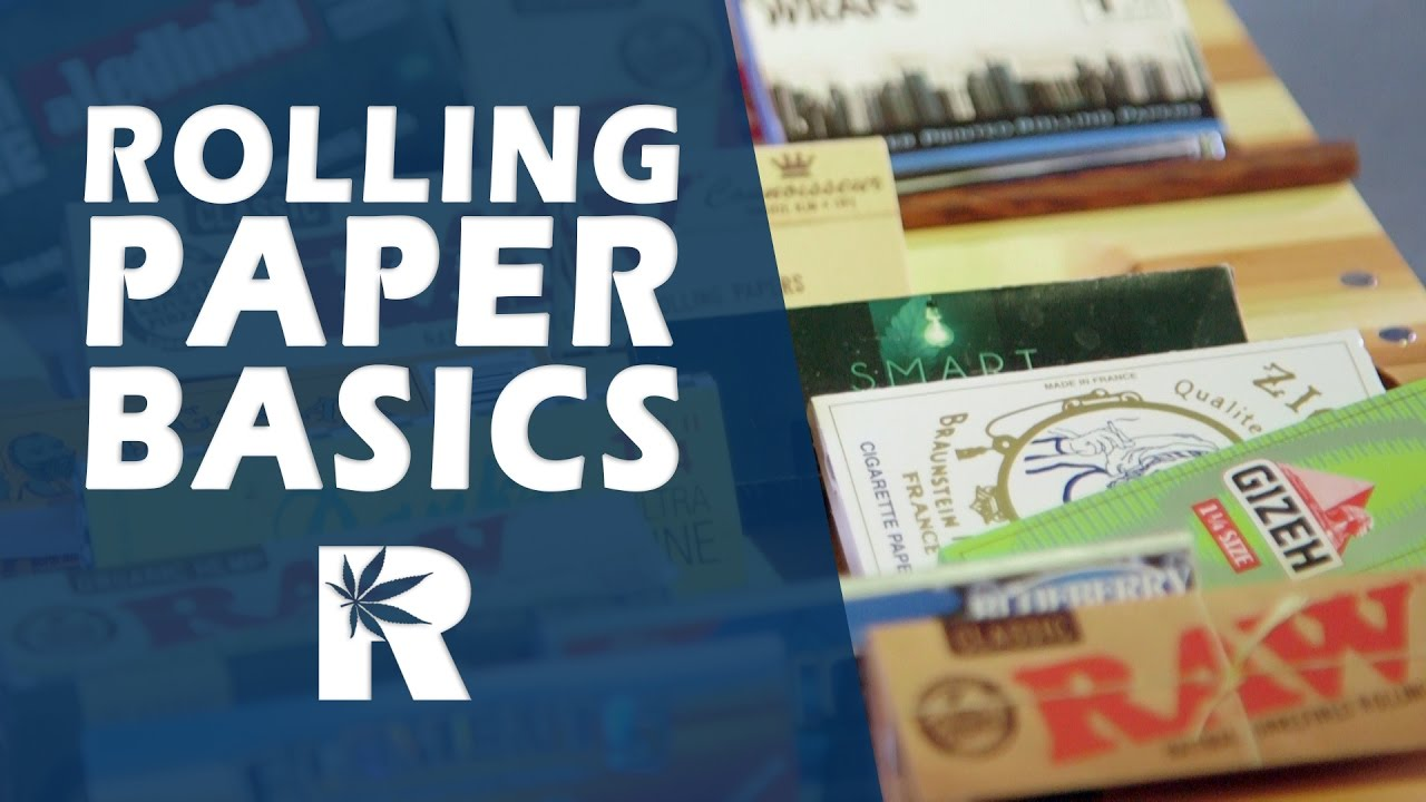 Rolling Papers Basics (RAW, Elements, JOB, Joker, Bugler etc.): Cannabasics #45