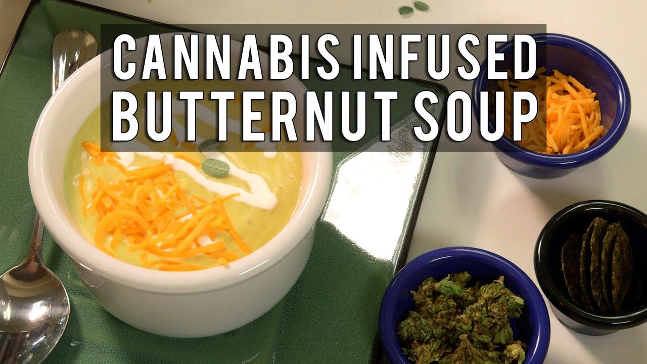 Savory Cannabis Infused Butternut Cream Soup Recipe