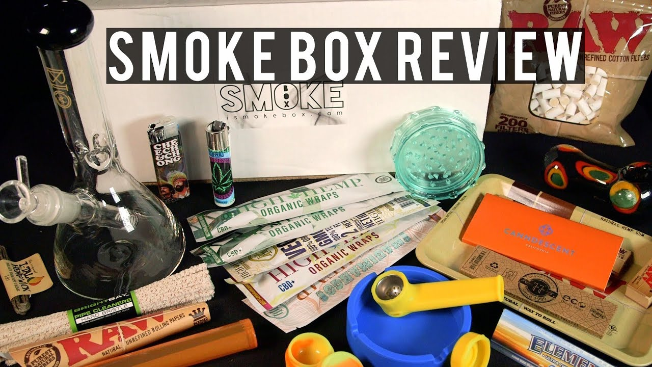 Smoke Box Smoking Accessories Boxes Review