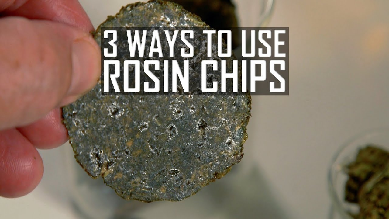 What Are Cannabis Rosin Chips? And 3 Ways to Use Them