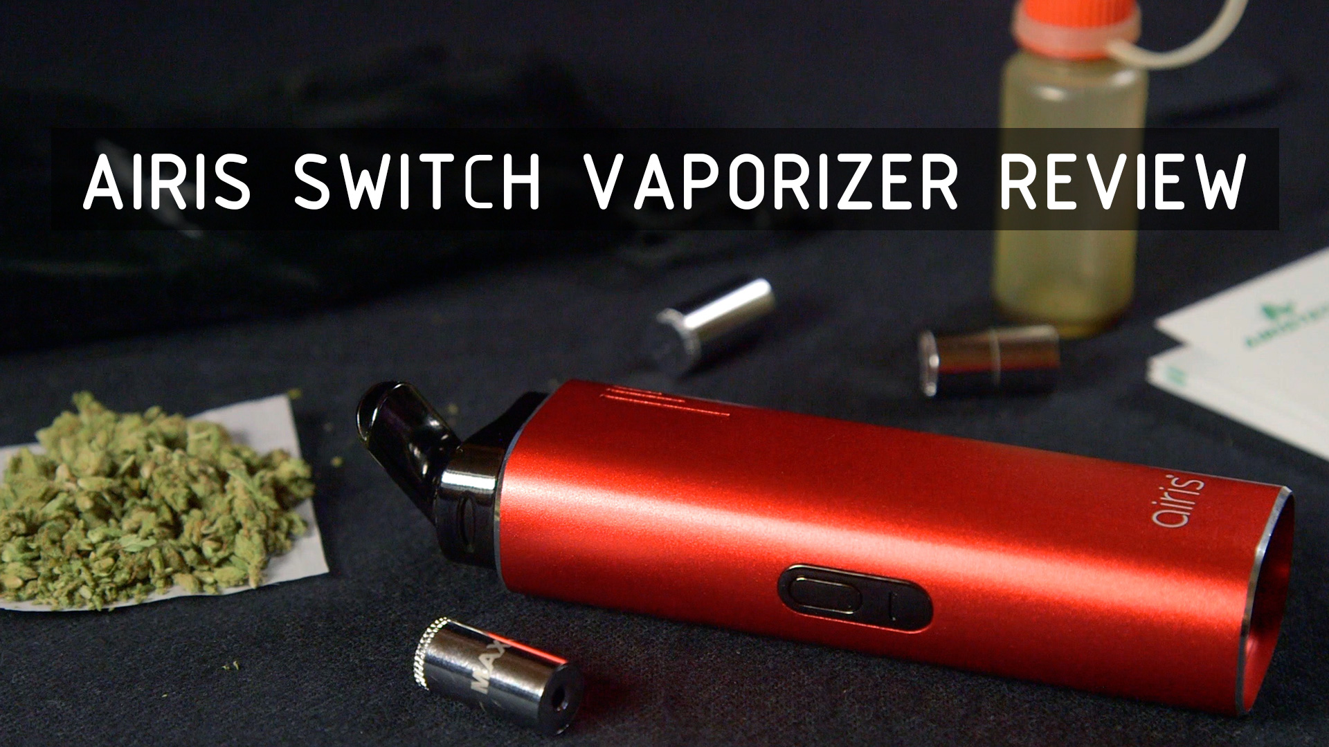Airis Switch 3-in-1 Vaporizer Review